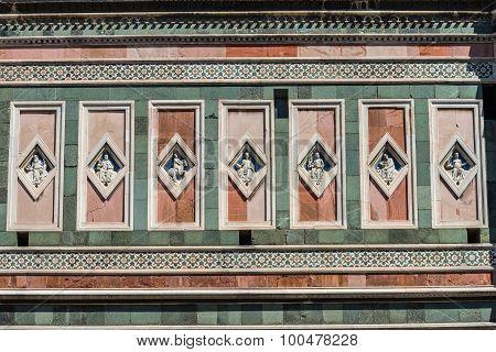 Symmetrical Statues Florence