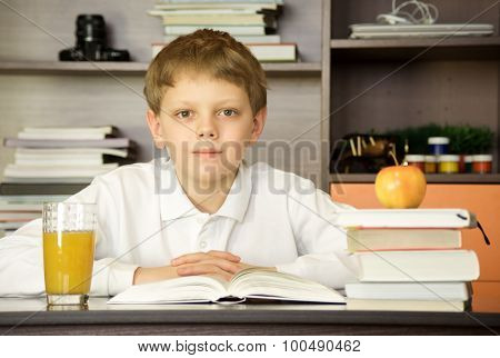 Child And Book