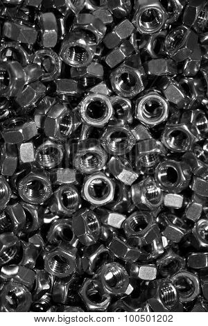 Mix Of Hexagon Nuts