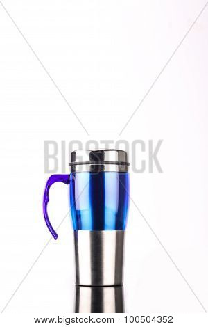 steel mug