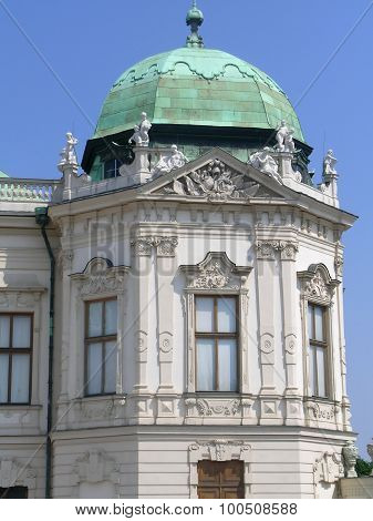 Architectual elements of Belvedere, Vienna
