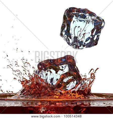 Whisky (or cola) splash