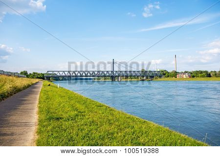 Rhine Bridge Karlsruhe, Germany