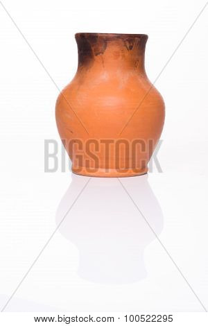 crock isolated on a white background