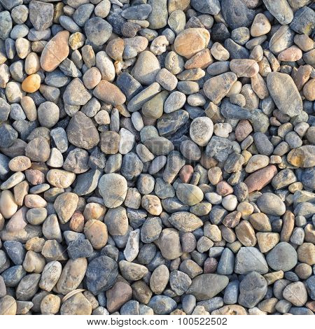 Natural Polished Pebble Or Gravels