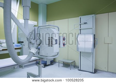 Hospital Room With A Classic X-ray System