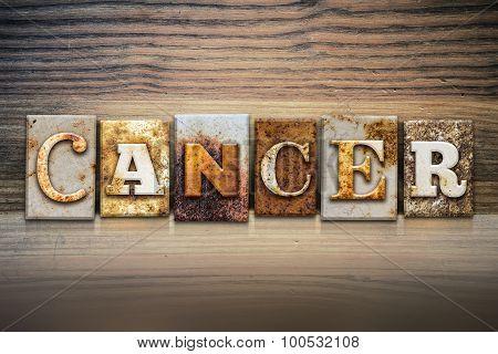 Cancer Concept Letterpress Theme