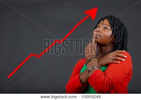 African Woman Personal Growth