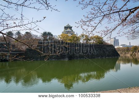 Osaka Castle In Matsumoto, Japan