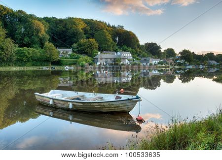 Early Morning At Lerryn In Cornwall