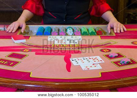 Casino Poker game.