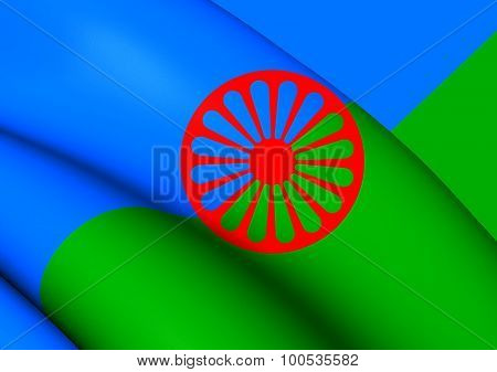 Romani People Flag