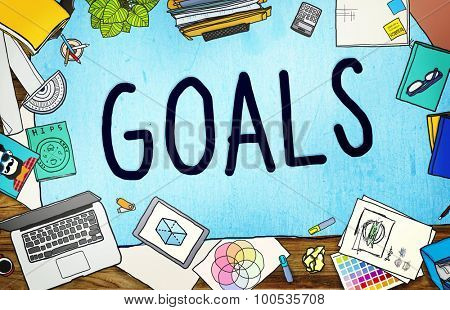Goals Aim Aspiration Anticipation Target Concept