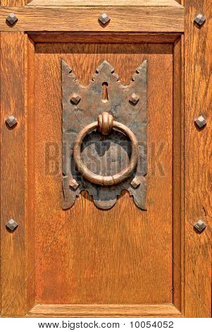 Old-fashioned Door Knocker