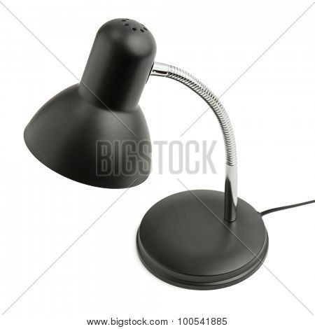 reading lamp isolated on white