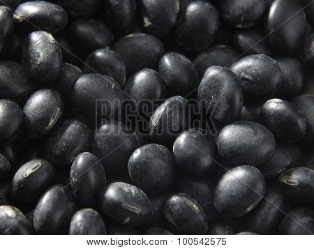 lot of black beans for background uses