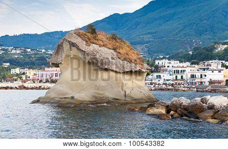 Il Fungo Of Lacco Ameno, Ischia Island, Italy