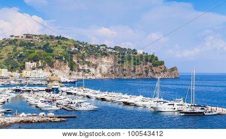 Marina Of Lacco Ameno, Ischia Island, Italy