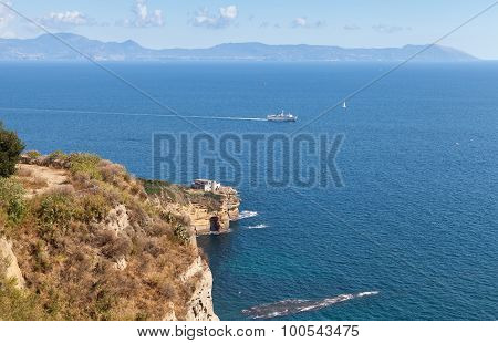 Gulf Of Naples Panoramic Coastal Landscape