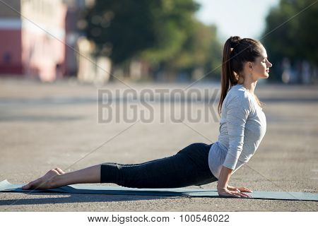Street Yoga: Upward Facing Dog Pose