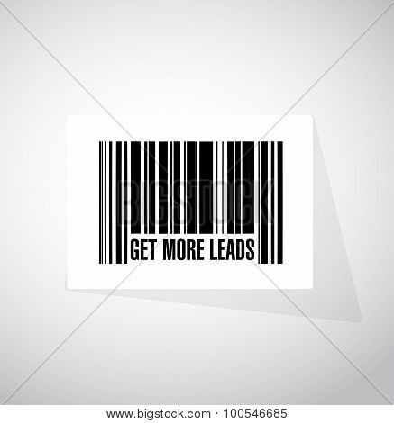 Get More Leads Barcode Sign