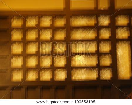 Blurred indoor Composition