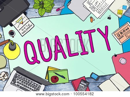 Quality Value Worth Capability Guarantee Concept