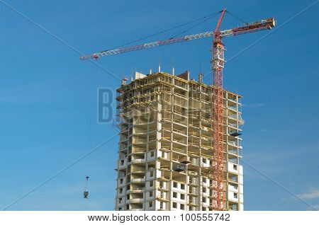 Construction Of A Multistory Building