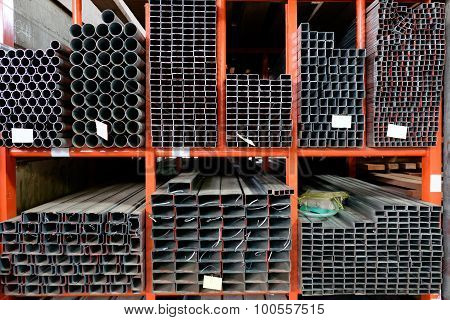 Stock Warehouse Many Kind Of Steel Tube.