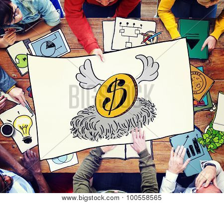 Money Strong Economy Finance Investment Concept