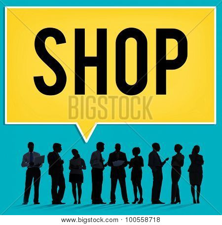 Shop Shopping Department Marketing Commerce Concept