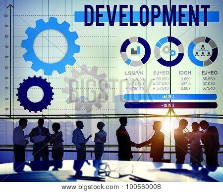 Development Improvement Business Growth Success Concept