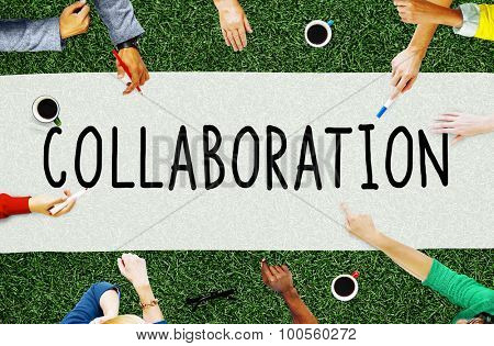 Collaboration Cooperation Organization Partnership Concept