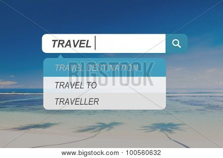Travel Vacation Holiday Tourism Leisure Destination Concept