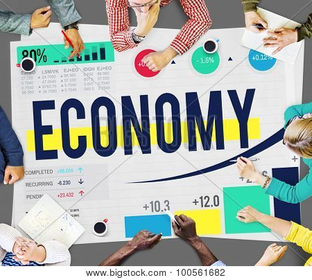 Economy Accounting Financial Investment Money Concept