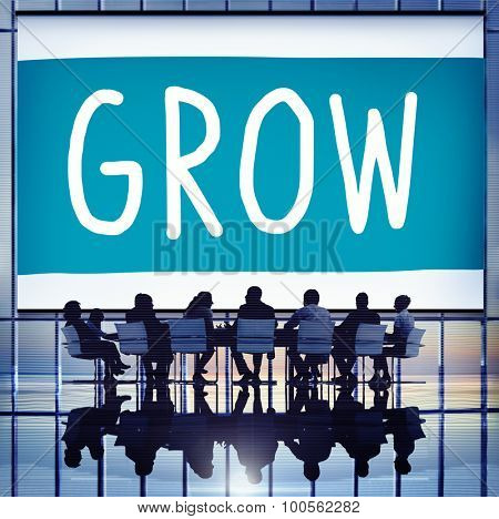 Grow Growth Development Improvement Increase Concept