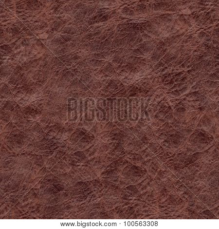 Seamless texture of natural brown crumpled skin