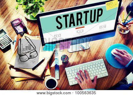 Startup Business Plan Creativity Ideas Inspiration Concept