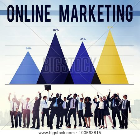 Online Marketing Internet Advertising Branding Concept