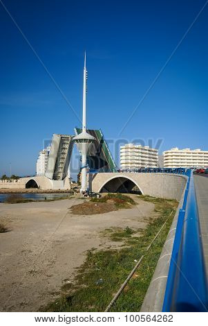 Drawbridge At La Manga, Valencia Y Murcia, Spain