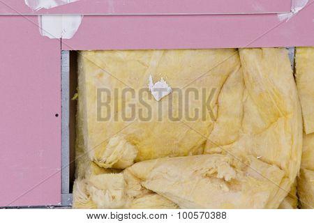 Glass Wool In Gypsum Wall