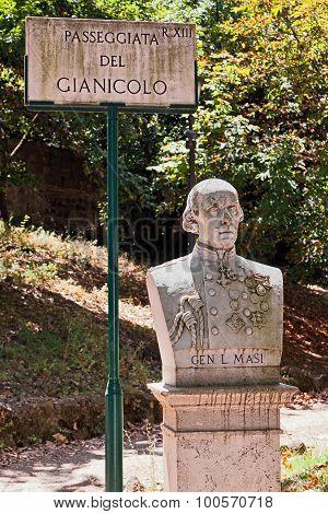 Roman monuments, Gianicolo