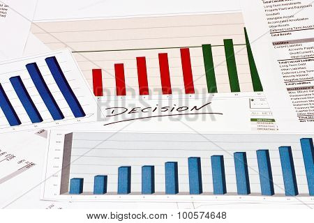 Decision On Charts And Graphs