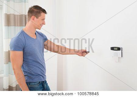 Operating Security Door System