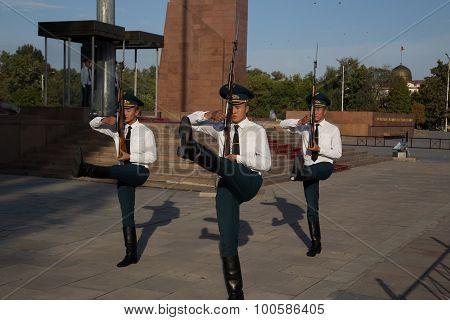 Guard shift Ala-Too Square