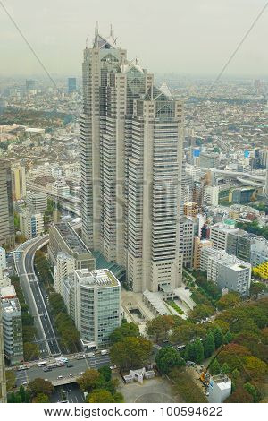 Many M?dern Buildings Rising In Tokyo