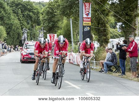 Team Cofidis, Solutions Credits - Team Time Trial 2015