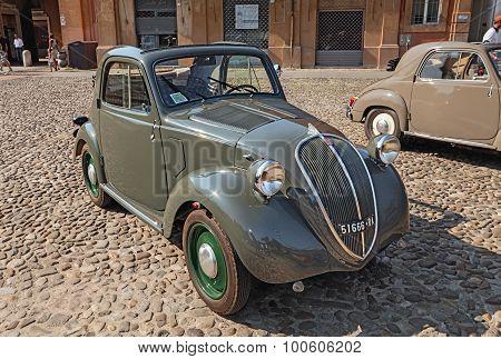 Old Italian Car Fiat 500 B Topolino (1949)