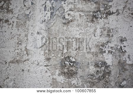 Texture of the old painted wall