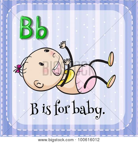Alphabet B is for baby